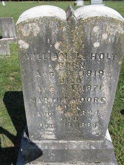 Martha <I>Moore</I> Holt