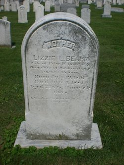 Lizzie L <I>Benner</I> Beahm