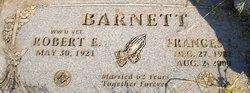 Frances Louise <I>Finchum</I> Barnett