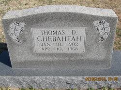Thomas D. Chebahtah