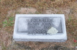 Henry John Aufderheide