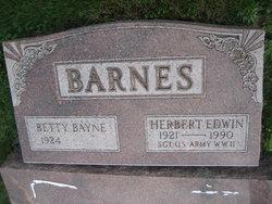 Betty Bayne <I>Wolfe</I> Barnes