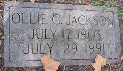 Ollie G Jackson