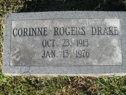 Corrine <I>Rogers</I> Drake