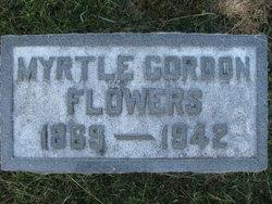 Myrtle <I>Gordon</I> Flowers