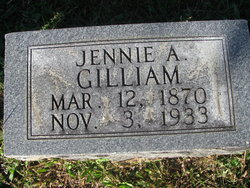 Jennie A Gilliam