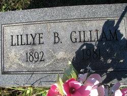 Lillye B Gilliam