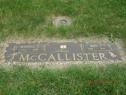 Martha T <I>Stevens</I> McCallilster
