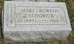 Mary Rowena <I>Lambert</I> Sedgwick