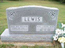Mary Carolyn <I>Lewis</I> Akers