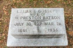 Laura E <I>Gossett</I> Batson