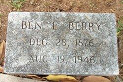"""Benjamin Lampley """"Ben"""" Berry"""