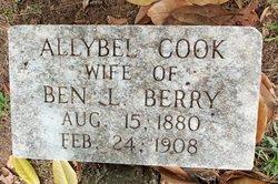 Allybel <I>Cook</I> Berry