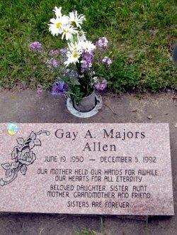 Gay Aline <I>Majors</I> Allen