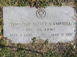 Pvt Timothy Scott Campbell