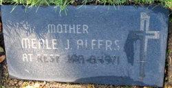 """Amelia J. """"Meale"""" <I>Milos</I> Alfers"""