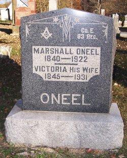Victoria <I>Hillis</I> O'Neel