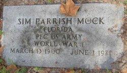 Sim Parrish Mock