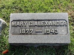 Mary G Alexander