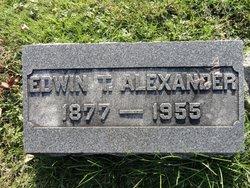 Edwin T Alexander