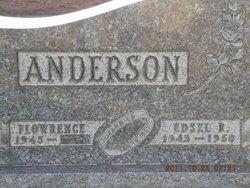 Edsel R Anderson
