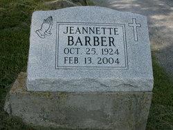 Gladys Jeannette Barber