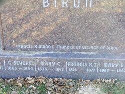 Francis X. Biron, I