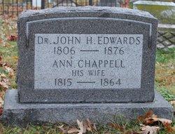 Dr John H Edwards