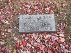 """Mary Elizabeth """"Mollie"""" <I>Rogers</I> Banks"""