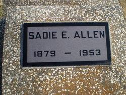 "Sarah Elizabeth ""Sadie"" <I>Cox</I> Allen"