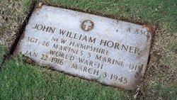 Sgt John William Horner
