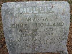 Mollie Rebecca <I>Delashaw</I> Holland
