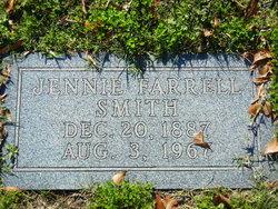 Jennie <I>Farrell</I> Smith
