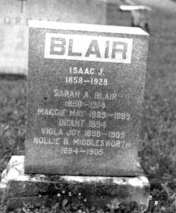 Isaac James Blair