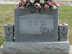 "Marslean Altha ""Marcie"" <I>Sparks</I> Pearson"