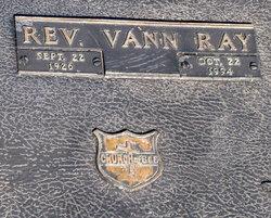 Rev Vann Ray Long