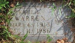 Katie Lou <I>Channell</I> Warren