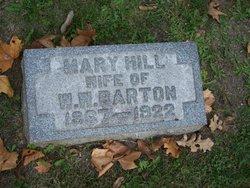 Mary <I>Hill</I> Barton