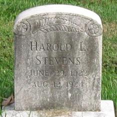 Harold L Stevens