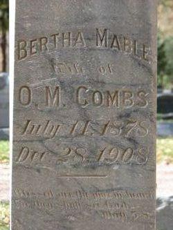 Bertha Mabel Combs