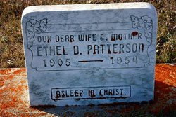 Ethel Dorothy <I>Denzin</I> Patterson