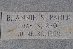 "Mary Blansett ""Blannie"" <I>Sutton</I> Paulk"