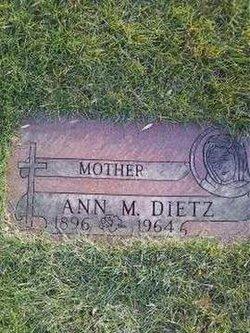 Ann M Dietz