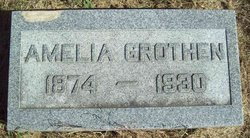 """Amelia Katharine Emilie """"Emily"""" <I>Gross</I> Grothen"""