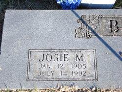 Josie Mary Barton