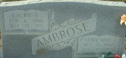 Carrie Mae <I>Graham</I> Ambrose