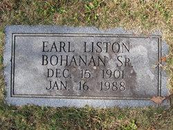 Earl Liston Bohanan, Sr
