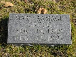 Mary <I>Ramage</I> Gregg