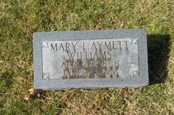 Mary Louise <I>Aymett</I> Williams