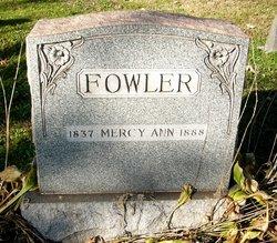 Mercy Ann Fowler